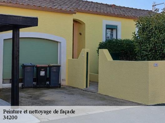 Prix peinture facade beautiful peinture de faade with for Peinture de facade exterieur prix